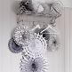 Lampions zur Hochzeit in Silber