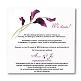Einladungskarte Calla Innenansicht