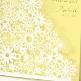 Einladung Hochzeit Detail Dalia gelb