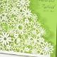 Einladung Hochzeit Detail Dalia grün
