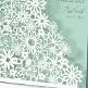 Einladung Hochzeit Detail Dalia mint