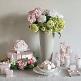 Kartonagen für Gastgeschenke zur Hochzeit in Rosé