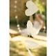 Hochzeitsdeko Konfetti Herz in Weiß
