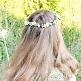 Haarkranz für Blumenkinder Vergissmeinnicht, Maedchen