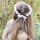Haarkranz für Blumenmädchen Rosen, weiß, maedchen