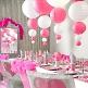 Lampions Rund 20cm, 2 St., rosa - rosa Lampions zur Hochzeit