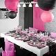 Lampions Rund 20cm, 2 St., rosa - hübsche Lampions als Deko-Accessoire