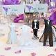 Mandelsäckchen Bräutigam und Braut - Dekobeispiel