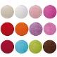 Platzsets Kreis für die Hochzeitsdeko - Farbvarianten