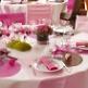 Hochzeitstafel mit Platzset Kreis