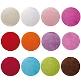 Platzset Kreis als Hochzeitsdeko - Farbensemble