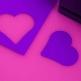 Prägestanzer Herz - Basteln zur Hochzeit
