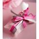 Geschenkverpackung Satinband in Fuchsia