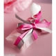 Geschenkverpackung Satinband in Rosa