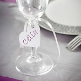 Herzanhänger für Gastgeschenke zur Hochzeit