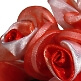 Stoffblume rot