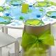 grüne Stuhlschleifen für Ihre Hochzeit - Stuhlschleife in grün zur Hochzeit