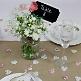 Tischläufer aus Leinen zur Hochzeit