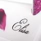 Tischkarte Calla - Detail
