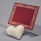 Tischkarte Raja, rot