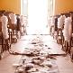 Tischläufer Vlies, grau