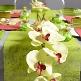 Tischläufer Vlies, grün, Dekovariante