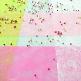 Tischläufer Vlies, rosa, Dekovariation
