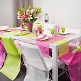 Tischläufer Vlies, rosa, Dekovariante
