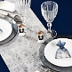 Tischläufer Vlies, grau, Dekovariation
