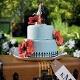 Hochzeitsdekoration - Brautpaar vor den Flitterwochen