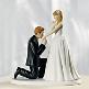 Brautpaar für den Hochzeitskuchen