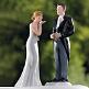 Hochzeitsdekoration Braut und Bräutigam