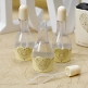 Wedding Bubbles Ornamentherz, creme-gold