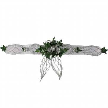 "Tischband ""Silberne Rose"""