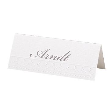 """Tischkarte zur Hochzeit """"Marie"""""""