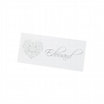"""Tischkarte """"Cecile"""" für Ihre Hochzeitstafel"""