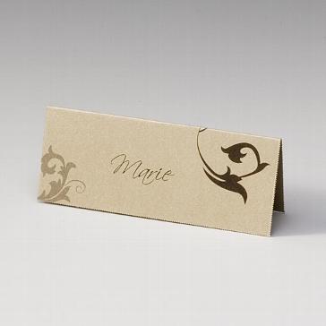 """Tischkarte """"Elaine"""" für die Hochzeitsfeier"""