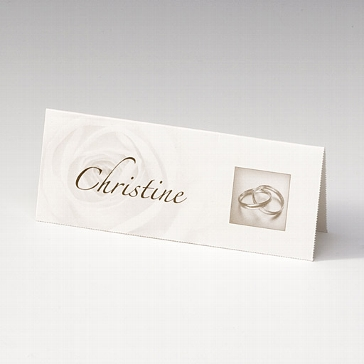 """Tischkarte """"Giuliana"""" für die Hochzeitsfeier"""