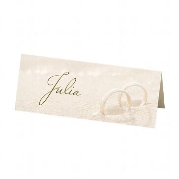 Tischkarte Glenna für die Hochzeitsfeier