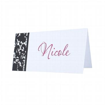 """Tischkarte zur Hochzeit """"Lucy"""""""