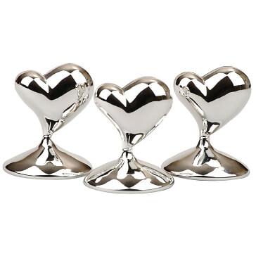 Tischkartenhalter Modernes Herz zur Hochzeit