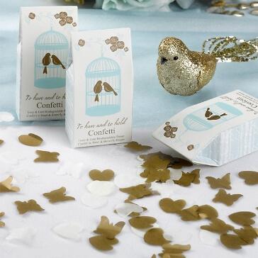 Tischkonfetti Forever Schmetterlinge und Herzen