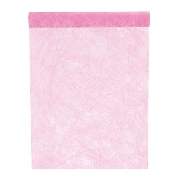 Tischläufer Vlies, rosa
