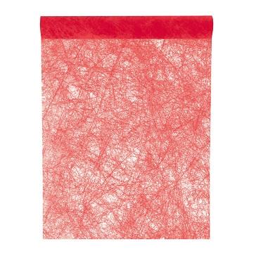 Tischläufer Vlies, rot