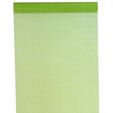 Tischläufer in Grün aus Organza zur Hochzeitsdeko