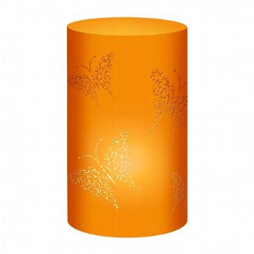 """Tischlichter """"Schmetterling"""", orange, 5 St. - oranges Tischlicht"""