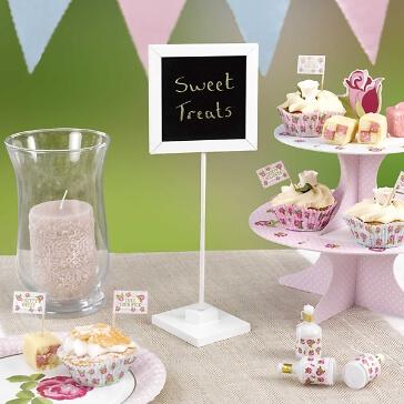 Tischtafel für die Hochzeitsdeko