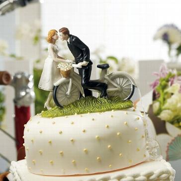 Tortenfigur Fahrrad