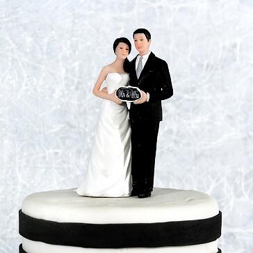 Tortenfigur Mr&Mrs