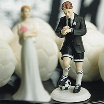 """Hochzeitsfigur """"Fußballer"""""""